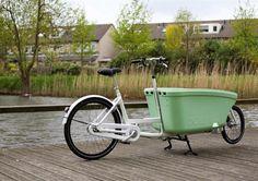 Dutch 'Dolly Bike' #dutchdesign #bakfiets #bike