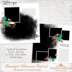 Beautiful Memories Templates Vol.62 by Indigo Designs