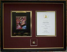 Shadowbox Display for Grammy Award