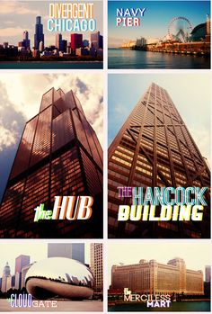 So cool to know the places in Divergent! Based in the windy city <3