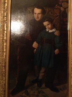 Victor Hugo et sa fille