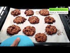 Karla Monsalvo Pasticceria Salutare - Biscotti di Avena e Mirtillo - YouTube