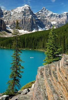 ✮ Moraine Lake - Banff National Park, Alberta, Canada
