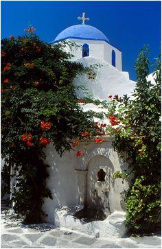 Church in Parikia, Paros