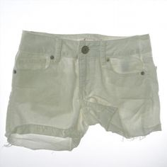 11.88$  Watch here - http://viyus.justgood.pw/vig/item.php?t=onc1dle50155 - AMERICAN EAGLE Women Size 0 White Stretch Mini Short