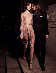 Freja Beha Erichsen in Valentino for Interview