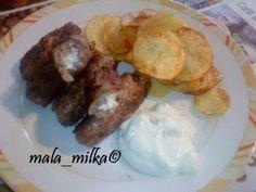 Bifteki mit Fetakäse - Rezept