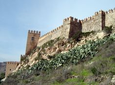Alcazaba - photo by Robert Bovington http://bobbovington.blogspot.com.es/2012/02/alcazaba-almeria-article-by-robert.html #Almería #Spain #robertbovington #alcazaba
