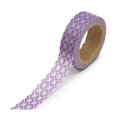 Purple Argyle Washi Tape