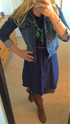 Thrifty Wife, Happy Life: My Closet~What I Wore