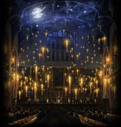Hogwarts I went to school like Hogwarts...