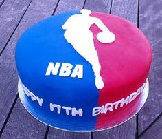 NBA Basketball Cake