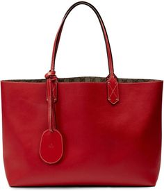 Reversible GG leather tote