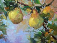 Mary Maxam - paintings: Orchard Pears - more Leister Farm & a coming demo