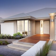 Warm and welcoming, The Fremantle display home at Home Group WA