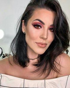 Flawless Makeup, Glam Makeup, Love Makeup, Makeup Tips, Beauty Makeup, Makeup Looks, Hair Makeup, How To Apply Makeup, Applying Makeup