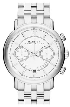 MARC BY MARC JACOBS 'Fergus' Chronograph Bracelet Watch, 42mm available at #Nordstrom