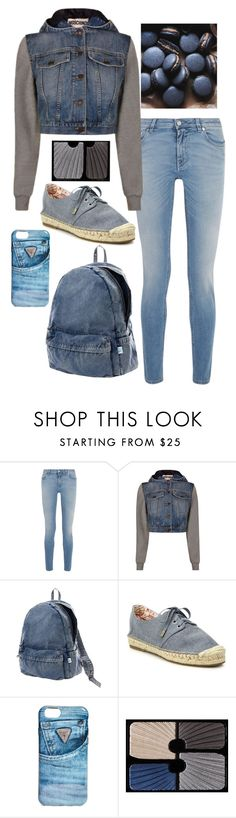 """Color Palette- Denim"" by shineedancer ❤ liked on Polyvore featuring Givenchy, Moschino, Issey Miyake, Joie, GUESS and Sisley"