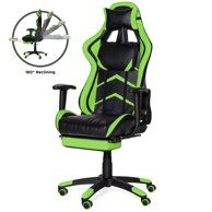 Costway High Back Racing Recliner Gaming Chair Walmart Com In 2020 Gaming Chair Reclining Office Chair Office Gaming Chair
