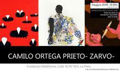 Muestra de arte de Camilo Ortega http://www.encuentos.com/ciclos-de-arte/muestra-de-arte-de-camilo-ortega/