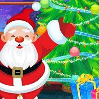 Sapin de Noël enchanté, jeux pour enfants
