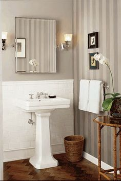 powder room ideas - Waterworks