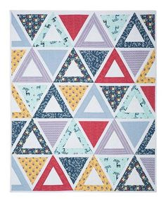 Hilltop Chopsticks Quilt Kit | Keepsake Quilting.  Jaybird quilts provides instructions for this East & West quilt with simple piecing using diamond shapes. Kit includes fabrics for the quilt  top and binding.  Affiliate link.  If you make a purchase I may receive a commission.  This does not effect your pricing.