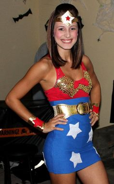 Wonder Woman Adult Sexy Halloween Costume by OMJCouture on Etsy, $50.00