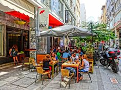 Breakfast in athens