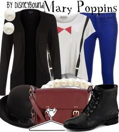 I am so in love with this Mary Poppins DisneyBound!