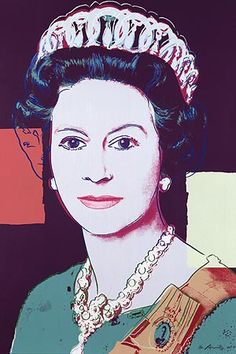 Andy Warhol's Her Majesty pictures bought...by Queen