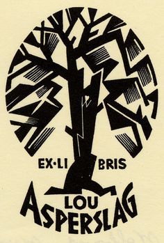 Peter Wolbrand, 1954, Ercolini bookplate collection