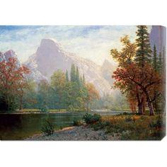 Big Co. Albert Bierstadt 'Half Dome: Yosemite' Stretched Art