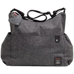 BabyMel Big Slouchy Tweed Changing Bag  £55