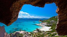The Maddalena Archipelago National Park of Sardinia of Italy is beautiful.