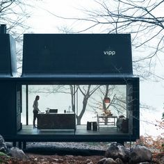 Vipp created a plug and play luxury shelter www.bocadolobo.com #architecture