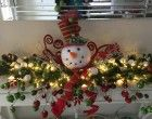 How to Make a Table Top Christmas Garland