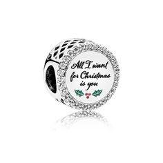 5e8289ac6 Shop PANDORA All I Want for Christmas Charm, Clear CZ on the official  PANDORA eSTORE