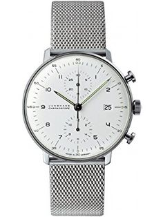 Junghans Watch - Max Bill - Chronoscape - Milanese ❤ Junghans