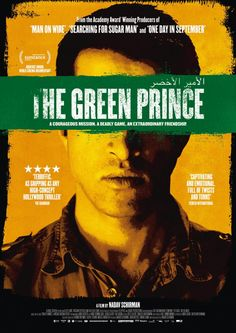 """""""This documentary-thriller tells the true story of Mosab Hassan Yousef, code-named """"The Green Prince,"""" the son of a top Hamas leader who emerged as one of Israel's prized informants, and Gonen Ben Yitzhak, the Israeli Shin Bet agent who recruited Yousef and ultimately risked his own life and career to save him."""""""