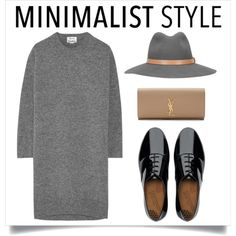A fashion look from November 2015 featuring Acne Studios dresses, FitFlop oxfords and Yves Saint Laurent clutches. Browse and shop related looks.
