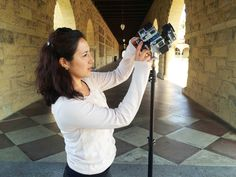 Master's student Naomi Cornman (Stanford Media Studies '16) worked with classmate Anna Yelizarova on a series of 360-video stories about sports that published on Peninsula Press, the Stanford Journalism Program's local news website.