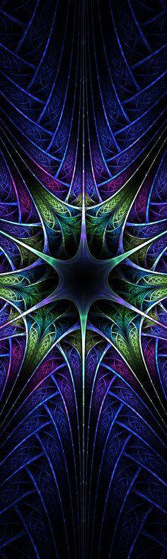 Blue Spires by jadenkanan.deviantart.com on @DeviantArt