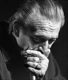 Charlie Musselwhite, blues musician. Don't know who the photographer is.