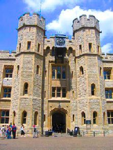 The Jewel House.  The Crown Jewels are stored in the Tower of London when not in use by the monarch for state occasions.  It is one of the main attractions of the tower.  They are kept in the Jewel House where they can be viewed by the public.