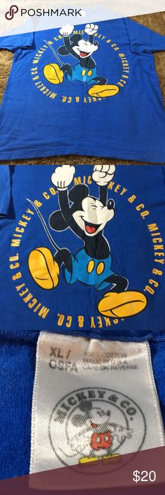 Disney t shirt Vintage disney t shirt made in usa 🇺🇸 in good condition Shirts