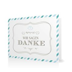 Dankeskarte Par Avion in Meergruen - Klappkarte flach #Hochzeit #Hochzeitskarten #Danksagung #Foto #modern https://www.goldbek.de/hochzeit/hochzeitskarten/danksagung/dankeskarte-par-avion?color=meergruen&design=c982d&utm_campaign=autoproducts