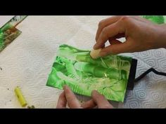 Encaustic -- Workshop, Folge 3/6: Bambus ... mit Ulrike Kröll - YouTube