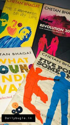 List of the best chetan bhagat books! New Books, Good Books, Books To Read, Movie 3 Idiots, Chetan Bhagat Books, Corruption In India, Half Girlfriend, English Writers, Indian Boy
