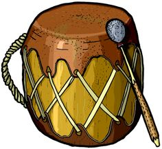 World Instrument Clip. Art native american drum and many more!!